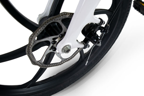 Front and Rear Disc Brake