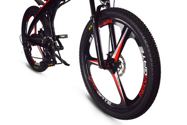 """Aerodynamic 26"""" Wheels"""