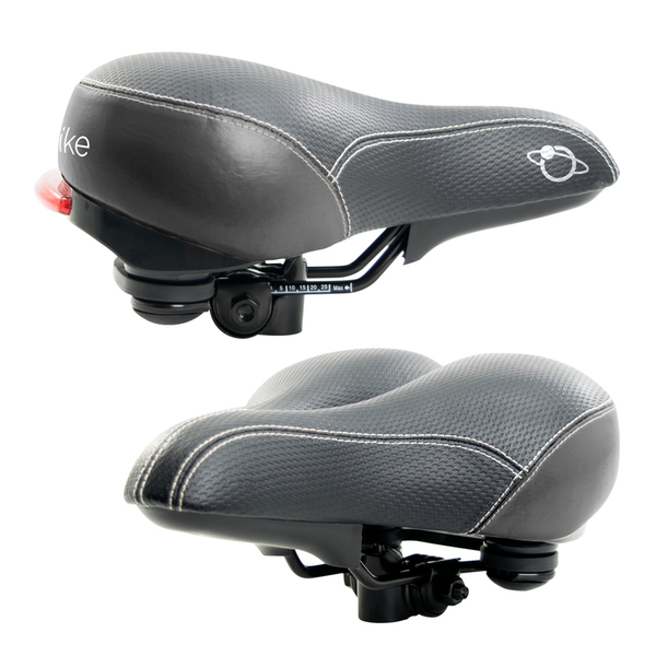 Dual Spring Leather Seat With Led Taillight