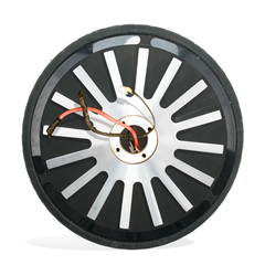 Front Wheel Containing Battery
